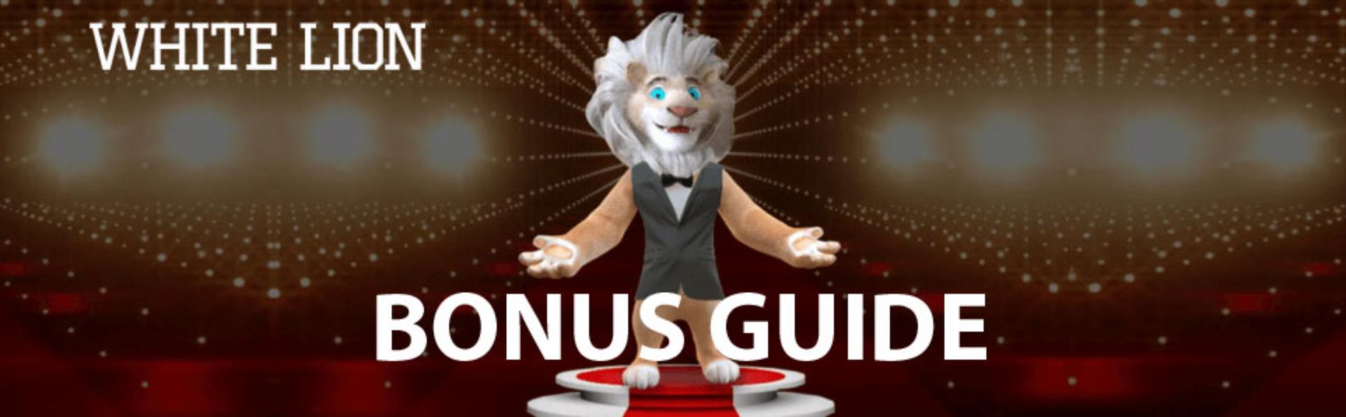 white lion bonus
